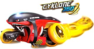 Maisto Tech Top RC Remote Control Cyklone 360 Stunt Bike-Color may vary