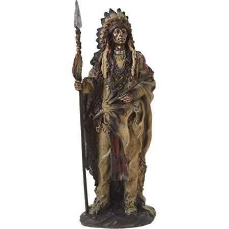 Reproduction dimestore western train figure Details about  /American Indian Warrior with Rifle