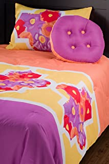 "Rizzy Home BT0875 Quilt, 86""X86"", Purple"