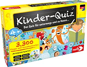 Noris 606013595 Kinder-Quiz, der Familen-Spielspaß für Zuh