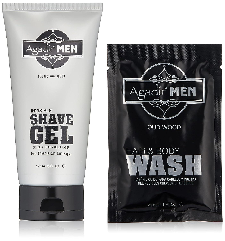 AGADIR MEN At the price Max 77% OFF of surprise Invisible Shave 6 Gel fl. oz.