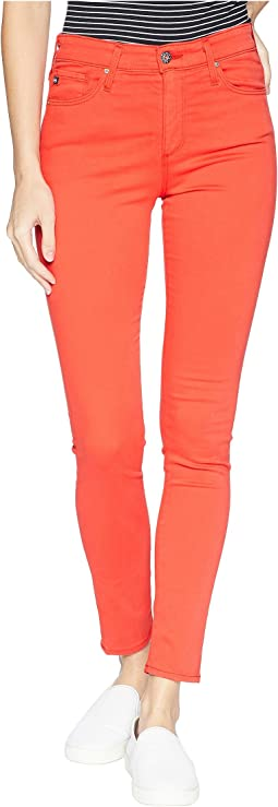 Farrah Skinny Ankle in Red Poppy