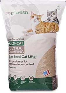 So Phresh Extreme Clumping Scented Grass Seed Cat Litter