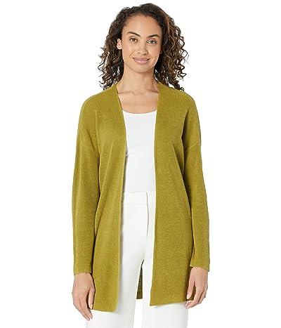 Eileen Fisher Organic Linen Cotton Boxy Cardigan