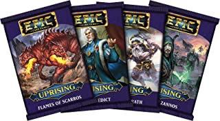 White Wizard Games Epic Uprising Bundle - Karks Edict, Flames of Scarros, Veldens Wrath, and Will of Zannos