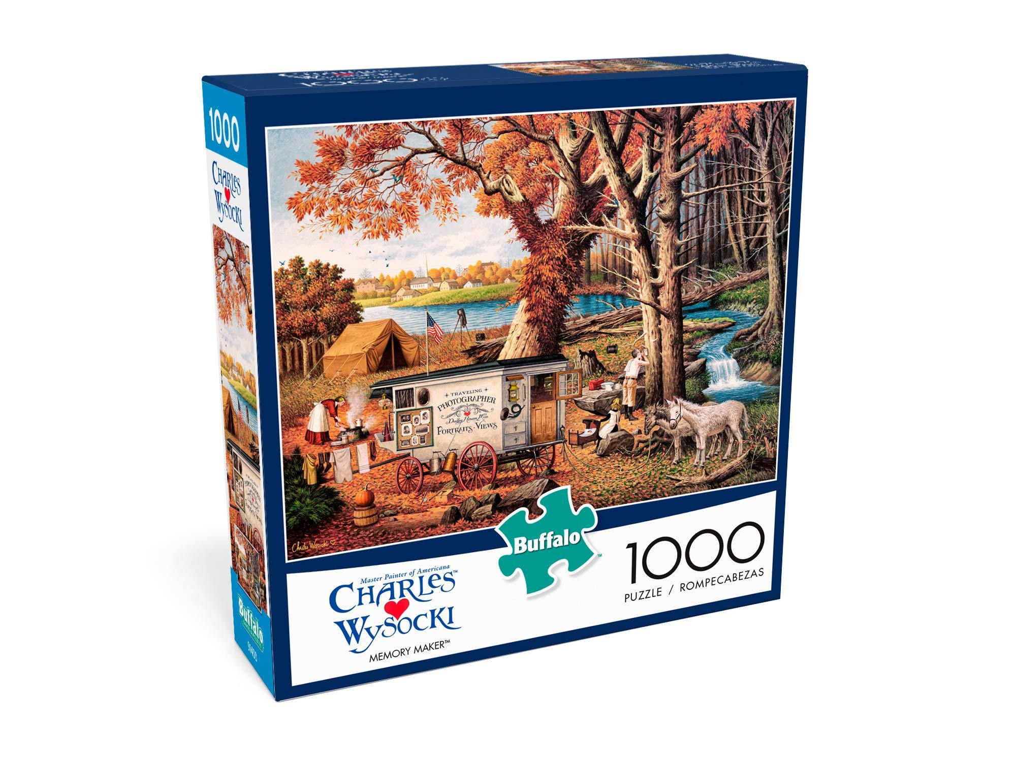 1000 Piece Jigsaw Puzzle Memory Maker Buffalo Games Charles Wysocki