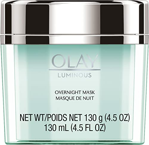 discount Olay Regenerist Luminous Overnight Facial Mask Gel Moisturizer with Vitamin C & E, 4.5 online sale Ounce online Packaging may Vary outlet online sale