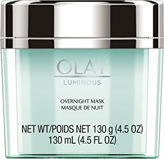 Olay Regenerist Luminous Overnight Facial Mask Gel Moisturizer with Vitamin C & E, 4.5 Ounce Packaging may Vary