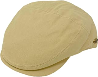 EPOCH Men's 100% Cotton 7 Panel Ivy Mixed Pattern Driver Cabby Flat Cap Hat