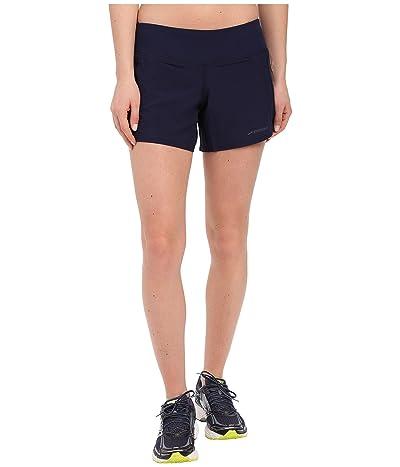 Brooks Chaser 5 Shorts (Navy) Women