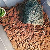 Garosa Cueva de Piedra Caja de Tortuga Oculta Material de Resina de Refugio para Reptil Tortuga Rana Zoológico decoración Adorno (s)
