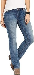 maurices Women's Denimflex TM Medium Wash Straight Jean 14 Medium Sandblast