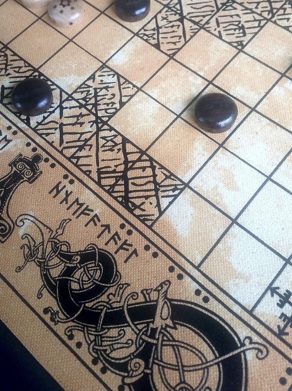 Be super National products welcome Viking Board Games Tafl Hnefatafl and Man Dom Nine Morris Free