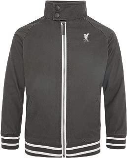 Liverpool FC Junior Charcoal Harrington Jacket LFC Official
