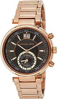 Michael Kors Womens Quartz Watch, Analog Display and Stainless Steel Strap MK6226