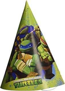 Amscan Teenage Mutant Ninja Turtles 6-Paper Party Hats