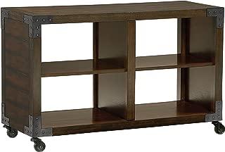Standard Furniture Sullivan Console Table, Distressed Dark Brown