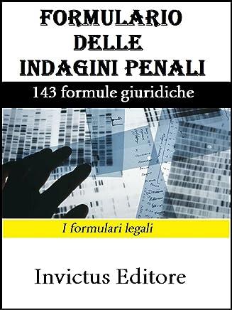 Formulario delle indagini penali
