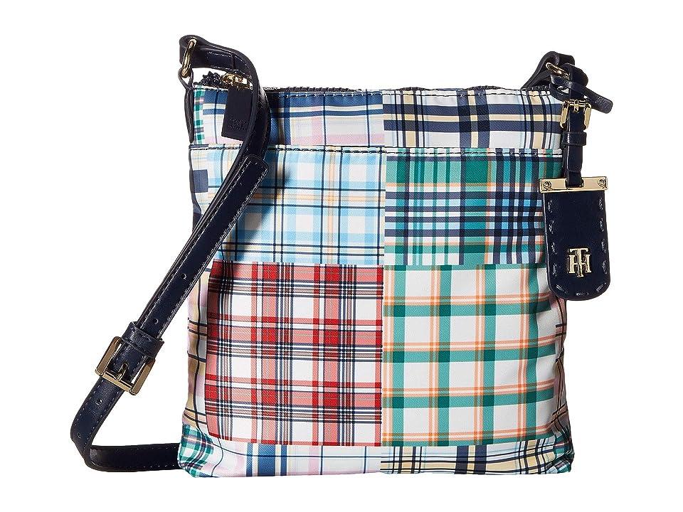 Tommy Hilfiger Julia Patchwork Crossbody (Navy/Multi) Handbags