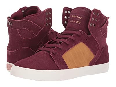 Supra Skytop (Wine/Tan/Bone) Men