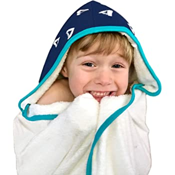 Amazon.com: Kids Hooded Bath Towel | Extra Soft & Thick 500 GSM