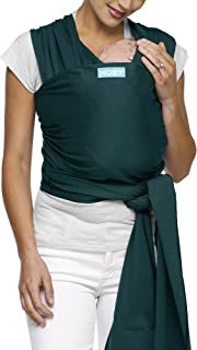 Moby Classic Baby Wrap (Pacific) – Baby Wearing Wrap for Parents On The Go-Baby..