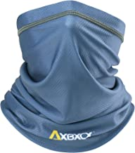 AXBXCX Breathable Neck Gaiter Elastic Seamless Moisture Wicking Fishing Face Mask