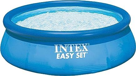Intex 28122 Easy Set Piscina Rotonda, 305 x 76 cm, con Pompa Filtro