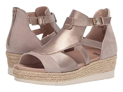 Earth Jasmine (Ginger Silky Suede/Pearlized Soft Calf) Women
