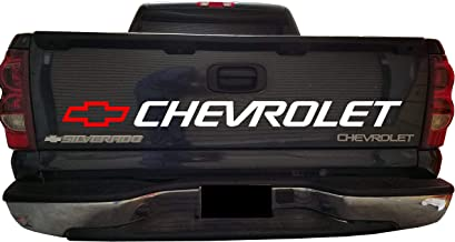 Ready to Install Chevrolet Decal Sticker Silverado Bed Vinyl Graphics New Style for Pickup Trucks