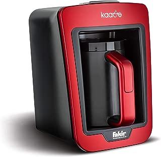 Fakir 41002901 Kaave Türk Kahvesi Makinesi, 735 W, 0.28 Litre, Plastik, Rouge