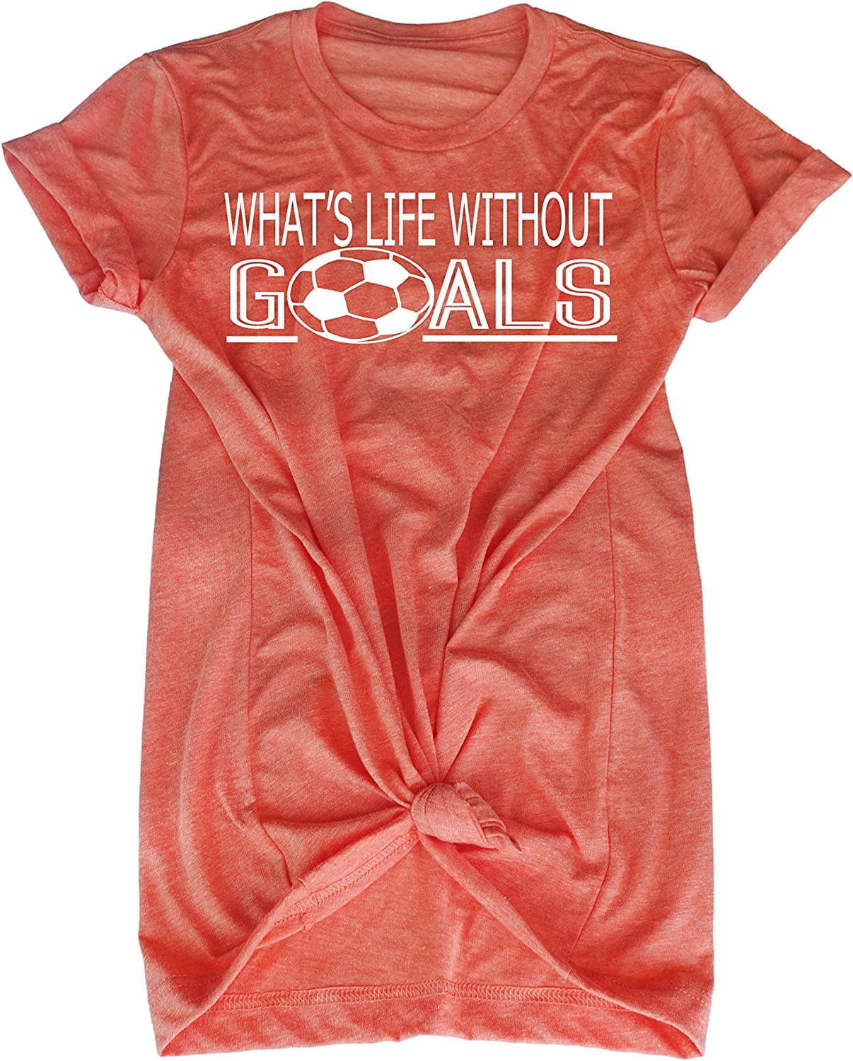 Soccer t-Shirt for Teen Girl- What's Life Ranking TOP4 Goals Without Shirt- Max 78% OFF B
