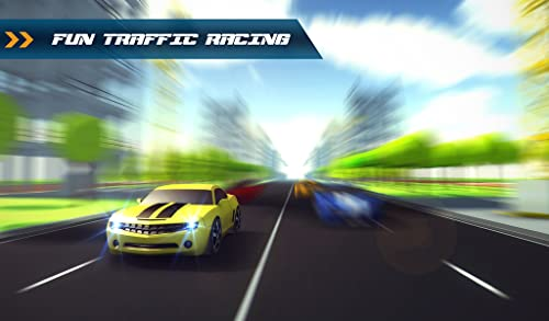 『Traffic Toon Racer : Hi Speed Real Escape Racing Rivals in City Road Pro』の4枚目の画像