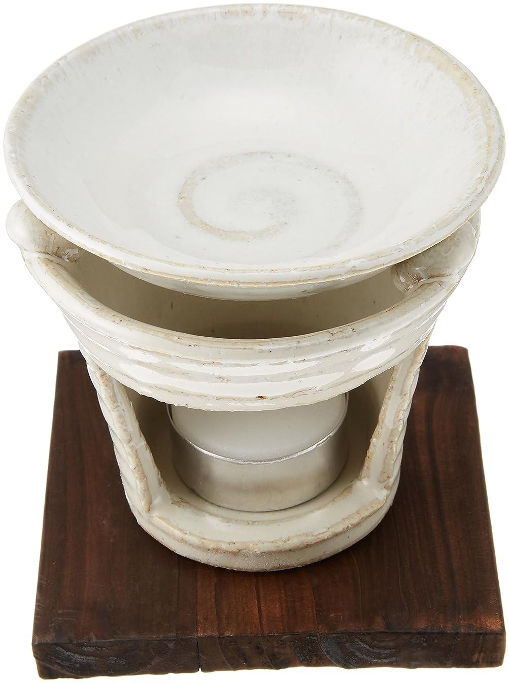 手首生き物完全に香炉 茶香炉 白萩 [H10cm] プレゼント ギフト 和食器 かわいい インテリア