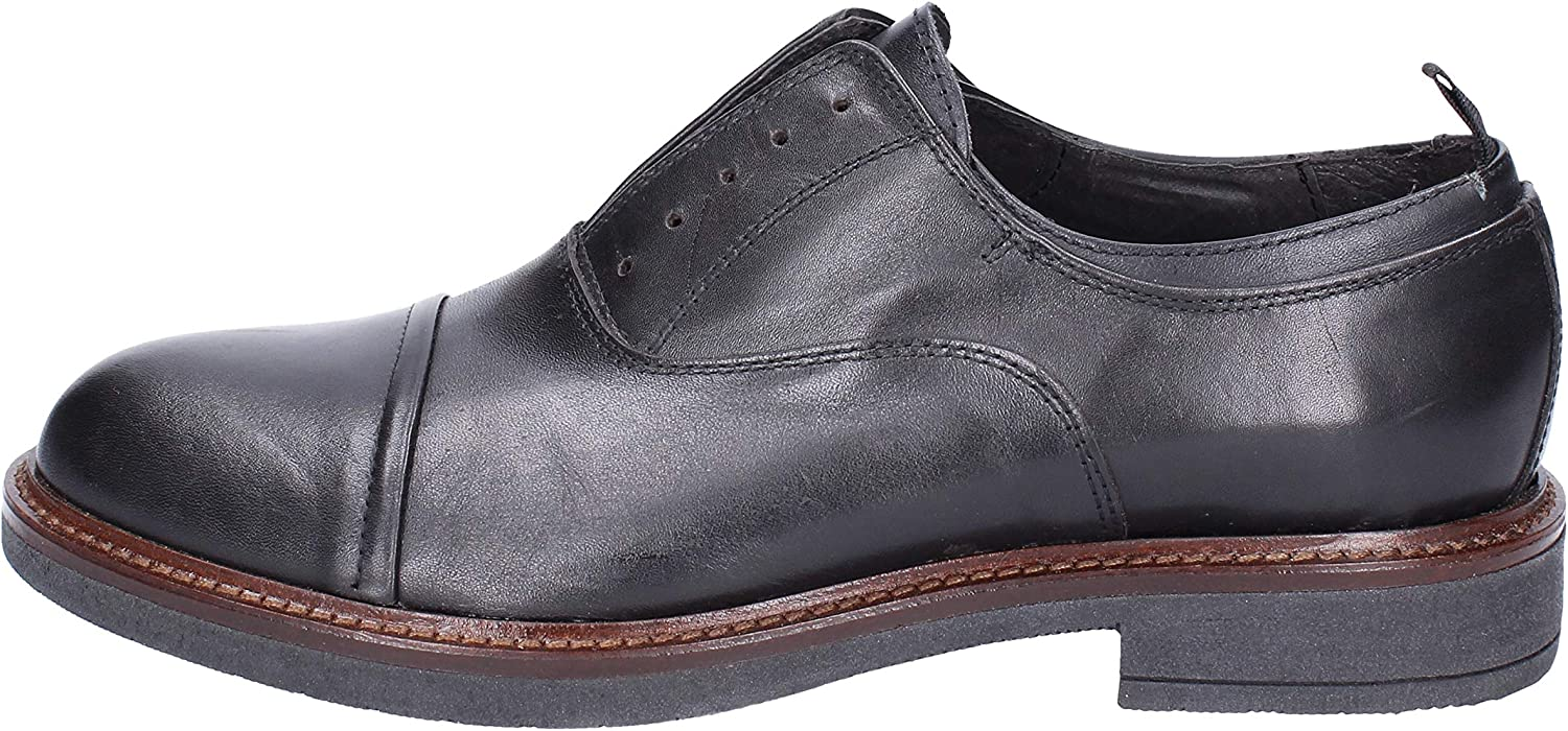 OSSIANI Oxfords-shoes Mens Leather Black