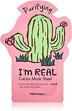 Red gLoaSublim Women Colorful Rhinestone Cactus Faux Pearl Charm Statement Stud Earrings Gift Fashion Earrings Green