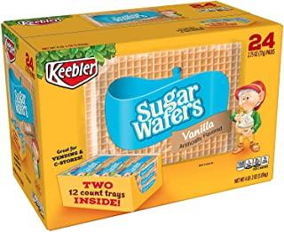 Keebler Sugar Wafers - 2.75 Oz. - 24 Pkgs