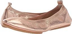 Rose Gold Textured Metallic Leather