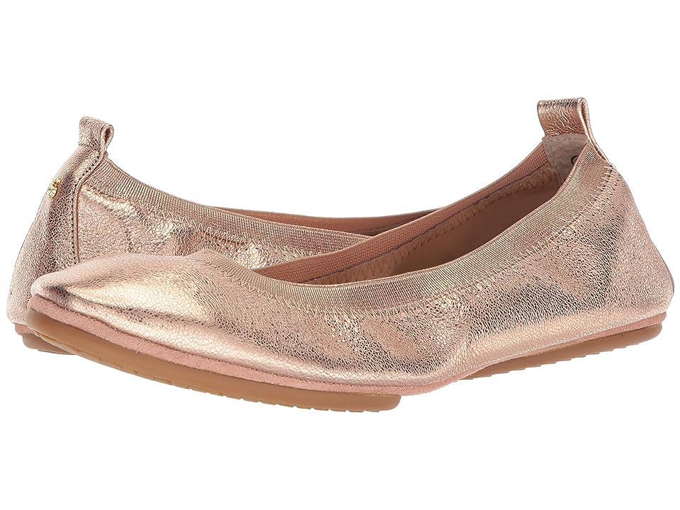 Yosi Samra Samara (Rose Gold Textured Metallic Leather) Women
