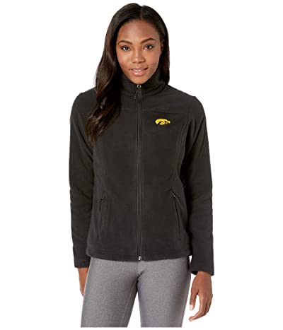 Columbia College Iowa Hawkeyes CLG Give and Gotm II Full Zip Fleece Jacket (Black) Women