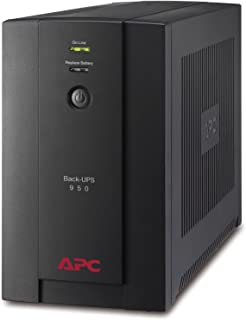 APC BX950U-GR Back-UPS BX - Sistema de alimentación ininterrumpida SAI 950VA (4 tomas