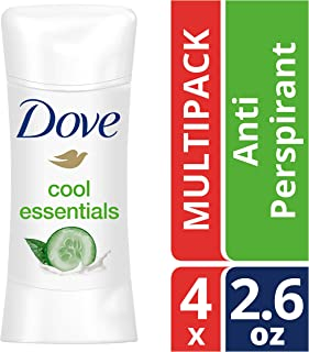 Dove Advanced Care Cool Essentials Antiperspirant Deodorant 2.6 oz, 4 count