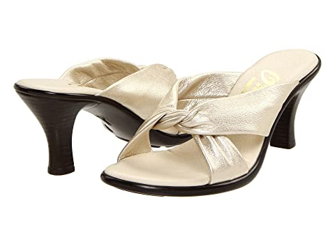Sandals Onex Modest Platinum Leather