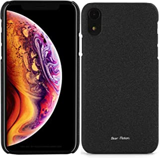Slim Case for Apple iPhone Xs Max 2018 Model - Bear Motion Premium Back Cover for iPhone Xs Max (Black, iPhone Xs Max)
