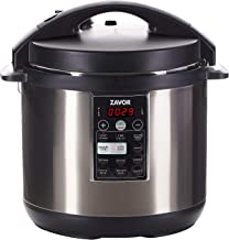 Zavor LUX Multi-Cooker, 8 Quart Electric Pressure Cooker, Slow Cooker, Rice Cooker, Yogurt Maker and more - Stainless Steel (ZSELX03)
