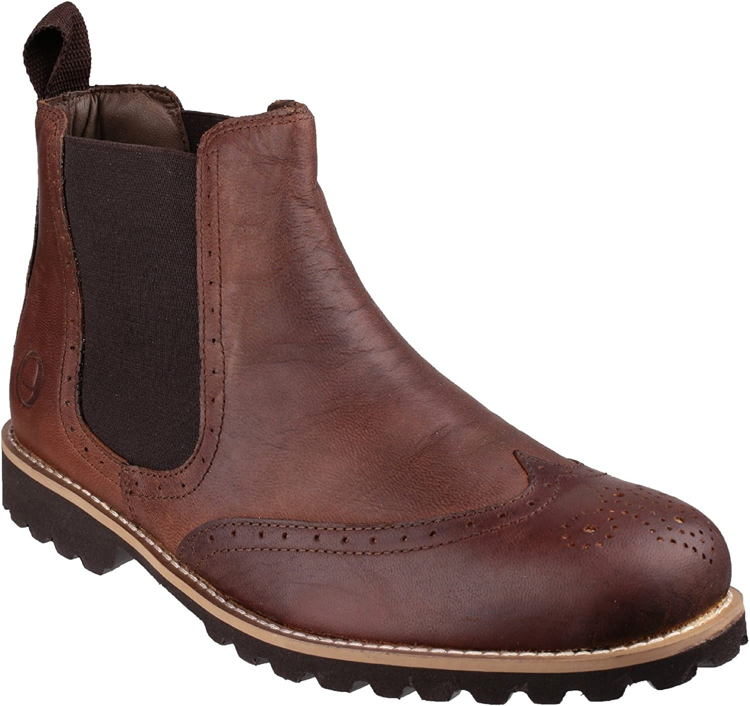 Cotswold Brown Mens Boot Abbeymead Men's Boot Mens