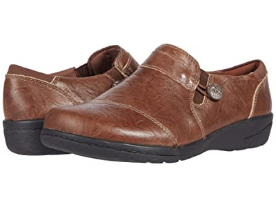 Clarks Cheyn Crystal (Dark Brown Leather) Women