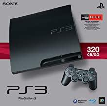 $301 » Sony PlayStation 3 Slim 320 GB Charcoal Black Console (Renewed)