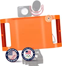 Filmmaking Case Video Rig For Apple IPad Mini 4 with Lens Adapter, Tripod Mount and Stabilizer Grip - Limited Edition Anniversary Orange - Made in USA by IOgrapher - Accessories Not Included