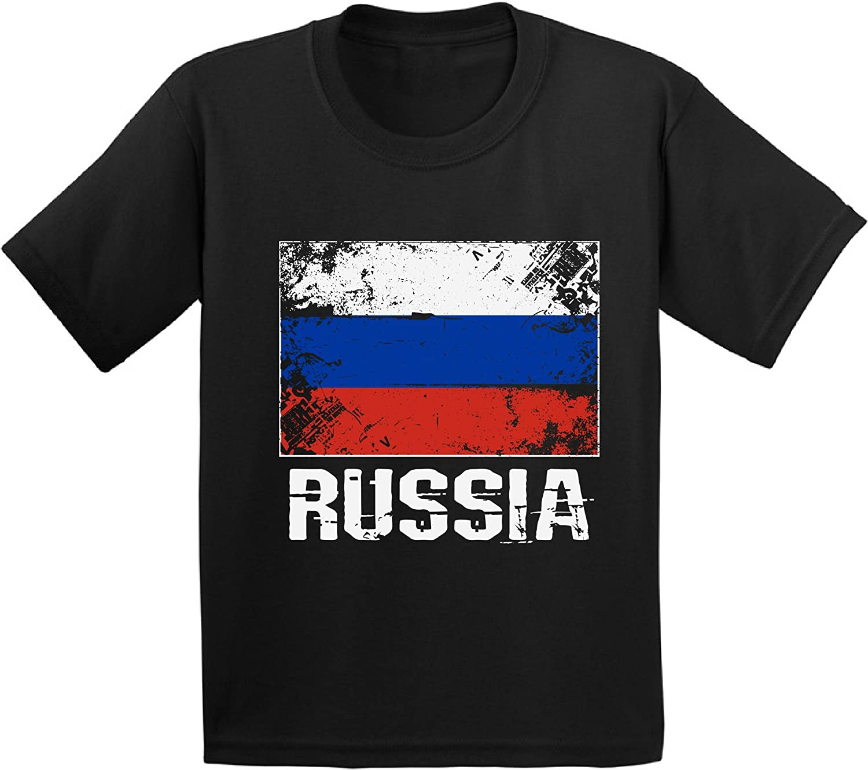 Awkward Styles Youth Russia Shirt Russian Flag Shirts Kids Russian Soccer Fan